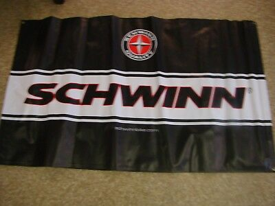 Vintage Schwinn Bicycle Banner