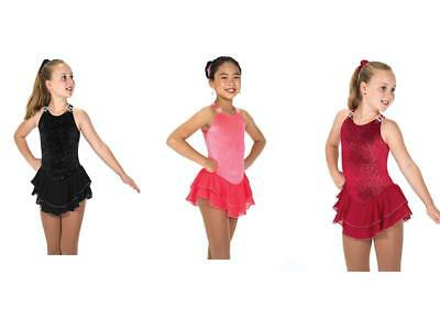 New Jerry's FIgure Skating Dress 151 Ice Shimmer Available in 3 Colours