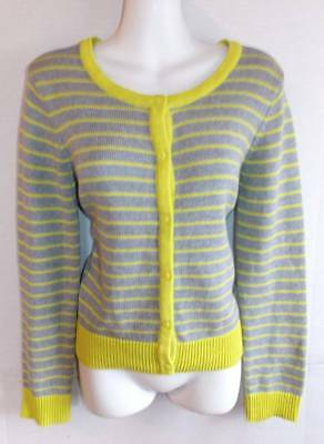 Old Navy Girl's Size XL NWT $25 Lime & Gray Cardigan Sweater TEEN