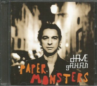Dave Gahan - paper monsters limited edition cd + DVD album  Depeche Mode