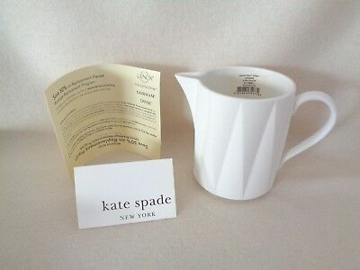 Kate Spade Castle Peak Creamer in Cream Brand New With Papers