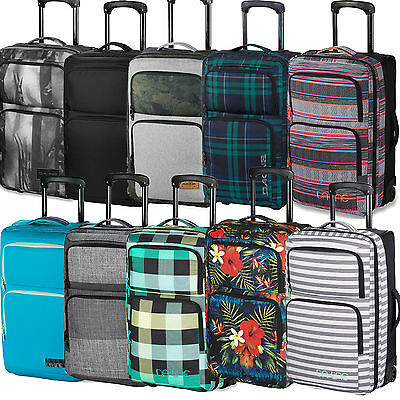 Dakine Carry On Roller 36 Litre Trolley Travel Bag Suitcase Suitcase NEW