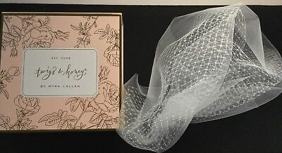 Twigs & Honey Double Layer Full Birdcage Veil