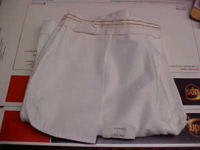 USN Navy Sea Cadet Enlisted female Dress White slacks Bell Bottoms 14MP loc#w6