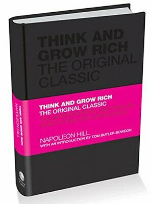 Think and Grow Rich: The Original Classic by Napoleon Hill Hardback Book The