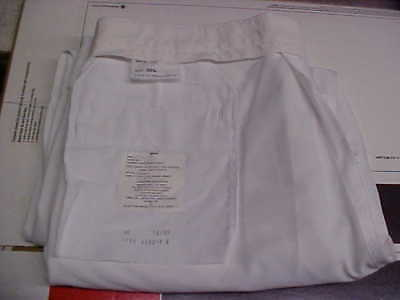 USN Navy Sea Cadet Enlisted Male Dress White Trousers 38L Bell Bottoms loc#w23