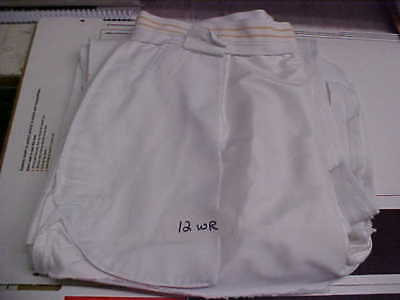 USN Navy Sea Cadet Enlisted Female Dress White Slacks 12WR Bell Bottoms loc#w26