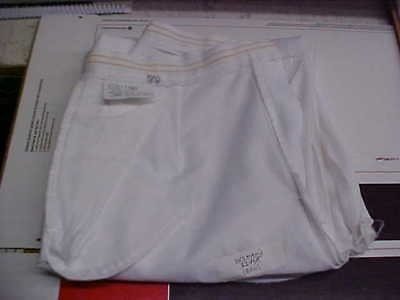USN Navy Sea Cadet Enlisted Female Dress White Slacks 12MR Bell Bottoms loc#w28