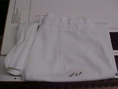 USN Navy Sea Cadet Officer Midshipman INST Female Dress White Skirt 6P loc#w66