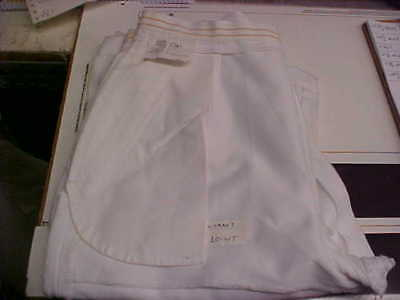 USN Navy Sea Cadet Enlisted Female Dress White Slacks Bell Bottoms 10WT loc#w80