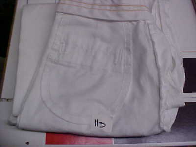 USN Navy Sea Cadet Enlisted Female Dress White Slacks Bell Bottoms 11S loc#w81
