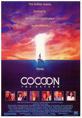 Cocoon The Return -  Science Fiction Drama - 1985 Ansichtskarte Postcard