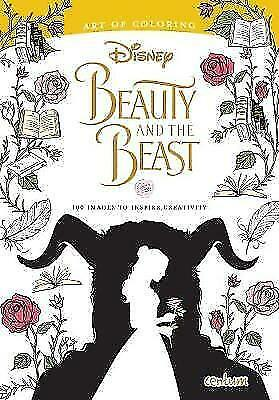 Beauty & The Beast Deluxe Colouring Book by Centum Books Ltd   Paperback Book  