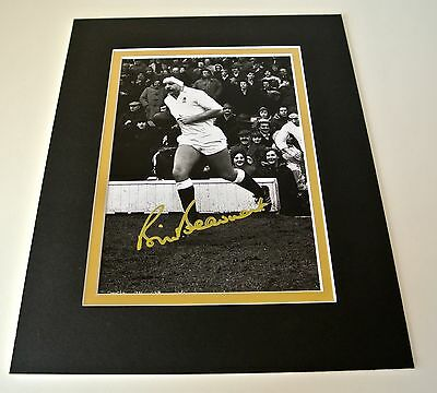 Bill Beaumont Signed Autograph 10x8 photo mount display England Rugby PROOF COA