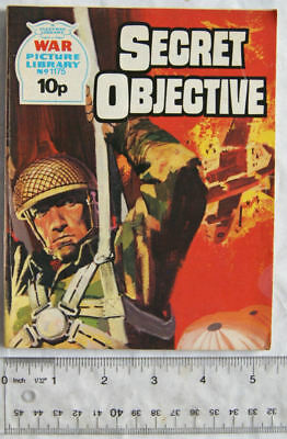 1976 War Picture Library 1175 Secret Objective