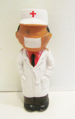 Doctor Surgeon Medic Cartoon Character Vintage Vinyl Figure Hanson Products