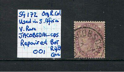 1881 SG 172 1d Lilac USED in SOUTH AFRICA during Boer War. Choice of stamps