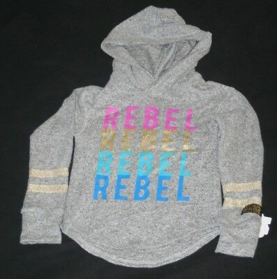 Star Wars Rebel Girls Hooded Long Sleeve Shirt X-Small 4 5 New
