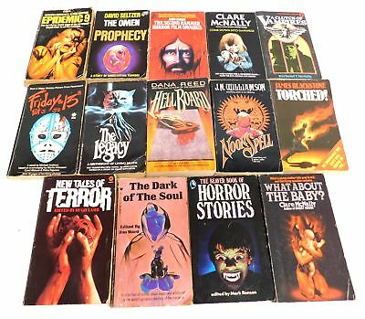 Collection of 14 Horror Themed Books FRIDAY THE 13TH TALES OF TERROR - B56