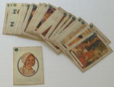 Retired American Girl Felicity Trading Cards! Complete 60 Card Set~Match 5 Books