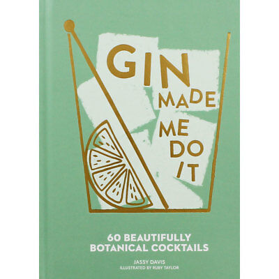 Gin Made Me Do It by Jassy Davis (Hardback), Non Fiction Books, Brand New