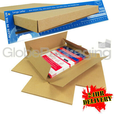 100 x C4 A4 SIZE STRONG MAX LARGE LETTER PIP SHIPPING POSTAL MAILING BOXES 24HRS