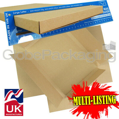 C4 A4 Size Max Large Letter Cardboard Postal Shipping Pip Boxes *all Qty's*