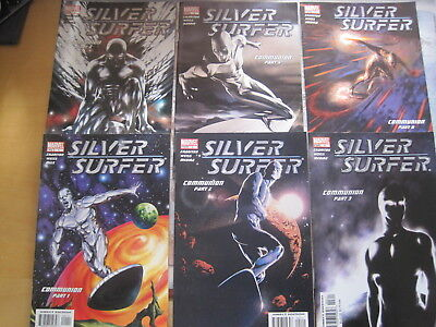 SILVER SURFER : COMPLETE 14 ISSUE 2003 MARVEL SERIES by CHARITON & WEISS