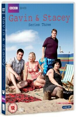 Gavin and Stacey: Series 3 DVD (2009) Joanna Page cert 12 2 discs Amazing Value