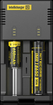 Nitecore Intellicharger Battery Charger Knife I2 Capable of charging batteries s