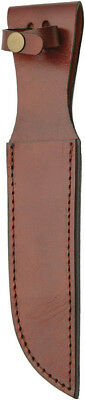 "Sheaths Brown Leather Sheath 7in Knife SHE-660012 Fits up to 7"" blade. Bulk pack"