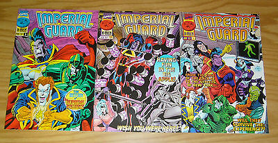 Imperial Guard #1-3 VF/NM complete series GLADIATOR x-men spin-off comics 2 set