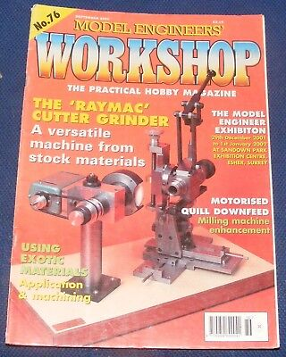 Model Engineers Workshop No.76 September 2001 - The 'Raymac' Gutter Grinder