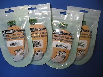 Leather Heel Cushions - Heel Lifts - Heel Pads - Men's or Women's - Pic-A-Size