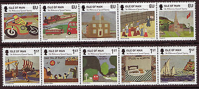 Isle Of Man 2015 Millenium Of Tynwald Tapestry  Mounted Mint