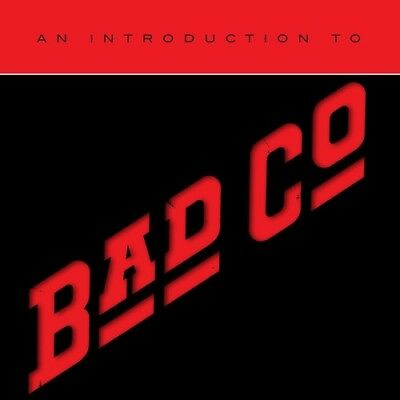 Bad Company - An Introduction To Bad Company [New CD]