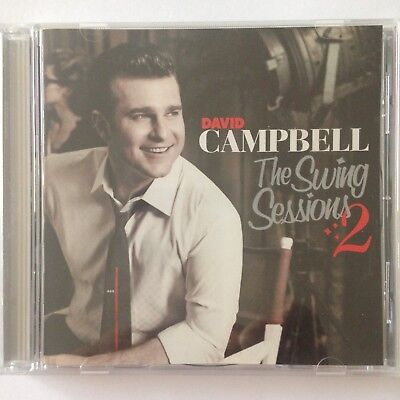 DAVID CAMPBELL The Swing Sessions 2 CD FREE POST