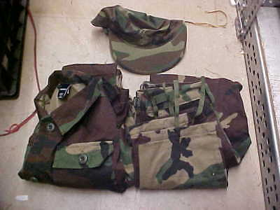 50% BDU Military Uniform US Naval Sea Cadet trooper 10 pants/blouse/cover #u99