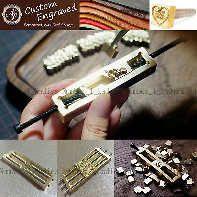Custom Leather Alphabet Number Stamp Embossing Leather Wood Craft Branding Iron