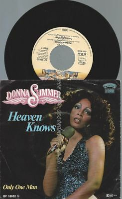 "7""   Donna Summer ‎– Heaven Knows"
