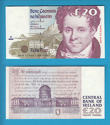 IRLAND  - Central Bank of Ireland - 20 Pounds - 1999