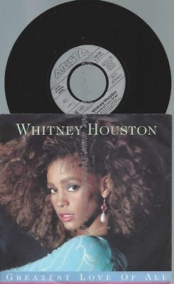 "7""   Whitney Houston ‎– Greatest Love Of All"
