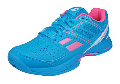 67d929c2ad36e BABOLAT PULSION ALL Court GIRL Tennis Shoes Sneakers 32S17518 PINK ...
