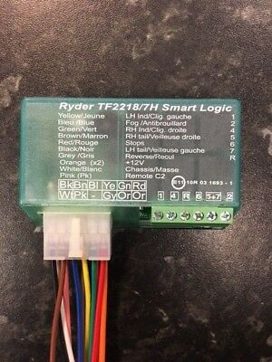 towbar electrics 7 way bypass relay for canbus multiplex ... ryder smart 7 bypass wiring diagram battery for apc smart ups 300rm wiring diagram