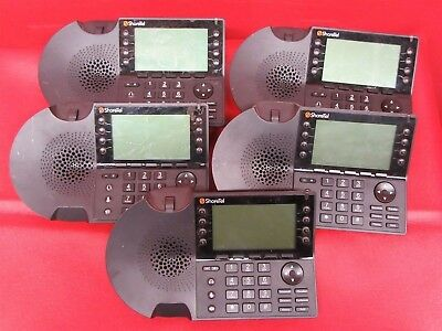 *LOT OF 5* Shoretel IP480 VOIP Multi-Line Business Office Phone *Tested Working*