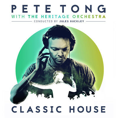 """Pete Tong with The Heritage Orchestra : Classic House Vinyl 12"""" Album 2 discs"""