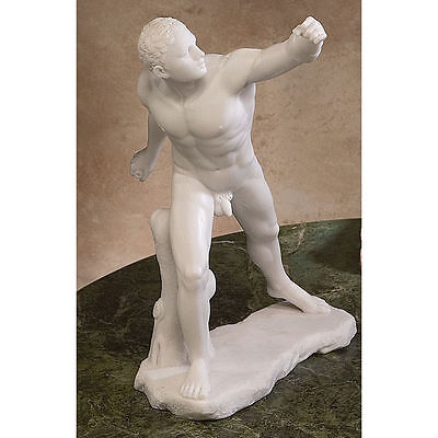 Ancient Male Nude Greek Statue (Le Gladiateur) The Gladiator Statue Sculpture