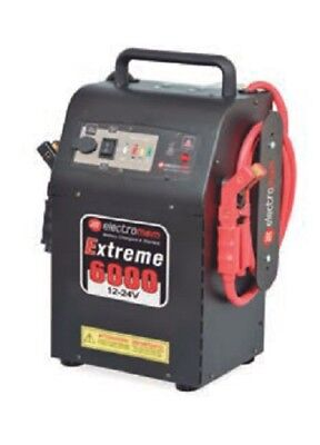 Booster de arranque 12V/24V  ELECTRO-MEN Start Extrem 6000