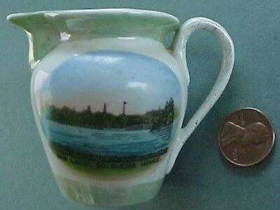 1910s Era Big Lake Minnesota Veterans & Soldiers Home wheelock-jonoth creamer!