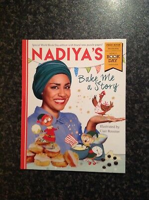 Nadiya's bake me a story (World Book Day 2018)